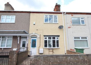 Thumbnail 3 bed terraced house to rent in 6 Wells Street, Grimsby, N.E. Lincolnshire
