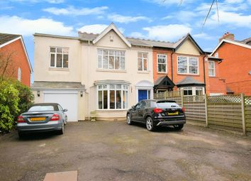 Thumbnail 4 bed semi-detached house for sale in Danford Lane, Solihull