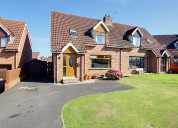 Thumbnail 3 bed semi-detached house for sale in Cairndore Crescent, Newtownards