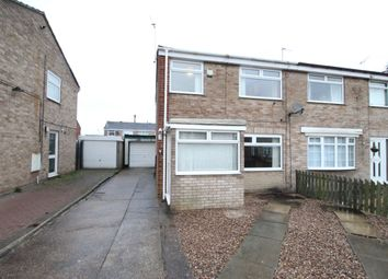 Thumbnail 3 bed semi-detached house for sale in Foxholme Road, Sutton-On-Hull, Hull