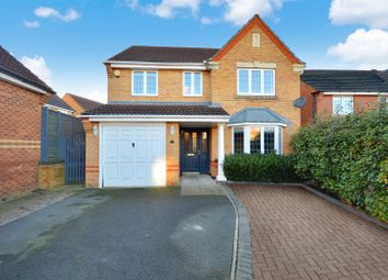 Thumbnail 4 bed detached house for sale in Wren Close, Sleaford