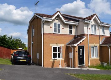 Thumbnail 2 bed semi-detached house for sale in Penkridge Road, Church Gresley, Swadlincote