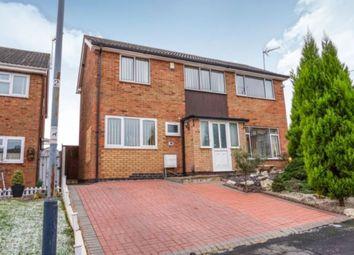 Thumbnail 3 bed detached house for sale in Holyoak Close, Bedworth