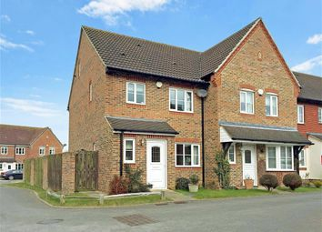 Thumbnail 3 bed town house for sale in The Poplars, Littlehampton, West Sussex