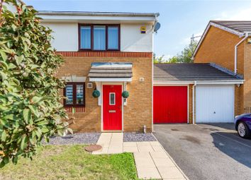 Thumbnail 2 bed semi-detached house for sale in Knightswood Road, Rainham