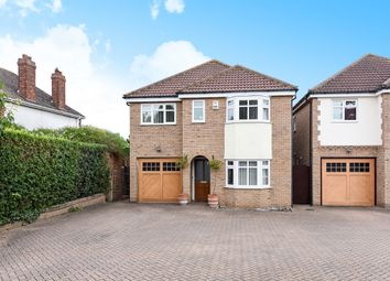 Thumbnail 4 bed detached house for sale in Great North Road, St. Neots, Cambridgeshire