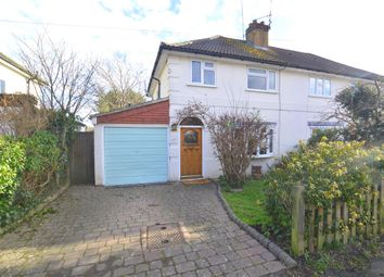 Thumbnail 3 bed semi-detached house for sale in Swaffield Road, Sevenoaks, Kent