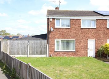 Thumbnail 3 bed semi-detached house for sale in Canterbury Close, Worksop