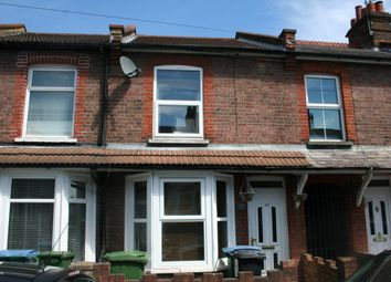 Thumbnail 3 bed terraced house to rent in Cromer Road, Watford