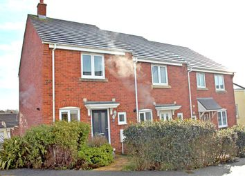Thumbnail 2 bed end terrace house to rent in Hawkins Way, Helston