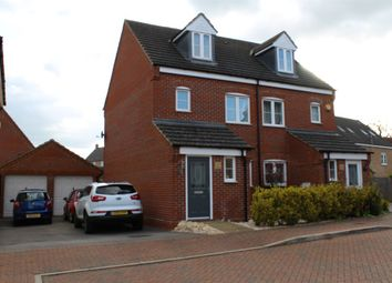 Thumbnail 3 bedroom town house for sale in Lockhart Avenue, Oxley Park, Milton Keynes