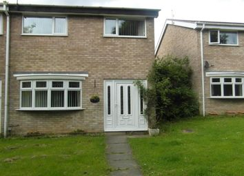 Thumbnail 3 bed semi-detached house to rent in Southward Way, Holywell, Whitley Bay