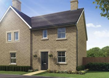 """Thumbnail 3 bed semi-detached house for sale in """"Folkesbridge"""" at Burlow Road, Harpur Hill, Buxton"""