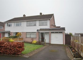 Thumbnail 3 bed semi-detached house for sale in Caldew Drive, Dalston, Carlisle, Cumbria