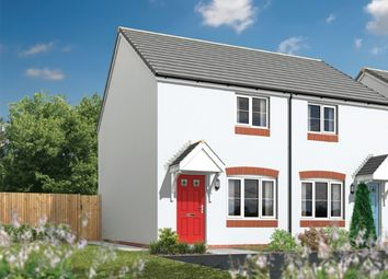 Thumbnail 2 bed semi-detached house for sale in Tregony Road, Probus, Truro