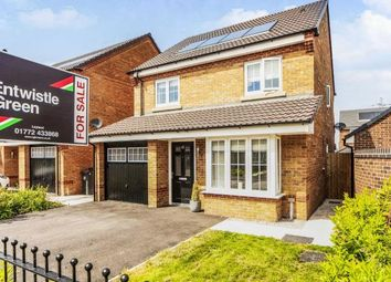 Thumbnail 4 bedroom detached house for sale in Radcliffe Drive, Farington Moss, Leyland