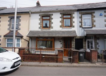 Thumbnail 3 bed terraced house for sale in Wyndham Crescent, Aberman, Aberdare