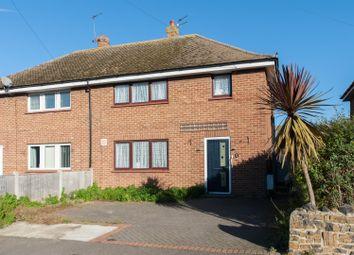 Thumbnail 3 bed semi-detached house for sale in Linington Road, Birchington