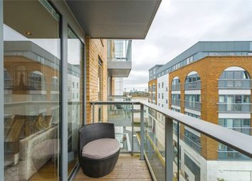 Thumbnail 1 bed flat for sale in Jubilee Court, 8 Wood Wharf, Greenwich, London