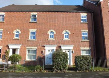 Thumbnail 4 bed terraced house for sale in Quins Croft, Leyland