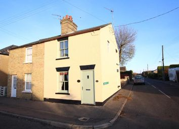 Thumbnail 3 bed semi-detached house for sale in Main Street, Witchford, Ely