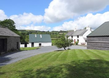 Thumbnail 3 bed farmhouse for sale in Ffarmers, Pumpsaint