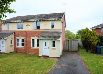 Thumbnail 3 bed semi-detached house for sale in Penzance Way, Stafford