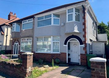 Thumbnail 4 bed semi-detached house for sale in Somerset Road, Crosby, Liverpool