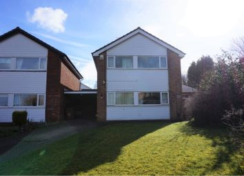Thumbnail 3 bed detached house for sale in Redcar Close, Hazel Grove