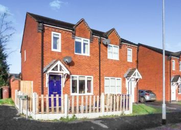 Thumbnail 2 bed semi-detached house for sale in Wrights Avenue, Chadsmoor, Cannock