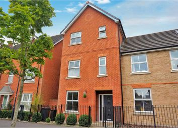 Thumbnail 4 bed town house for sale in Eastbury Way, Swindon