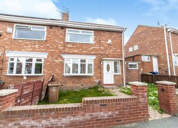 Thumbnail 2 bed semi-detached house for sale in Thistle Road, Thorney Close, Sunderland