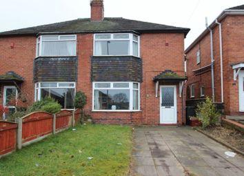Thumbnail 2 bedroom semi-detached house for sale in Cedar Avenue, Talke, Stoke-On-Trent
