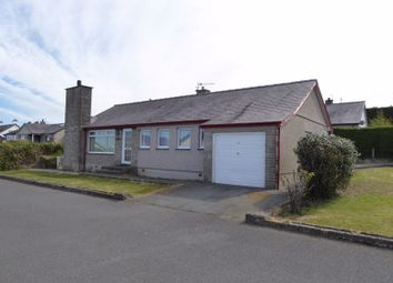 Thumbnail 3 bed detached bungalow for sale in Bryn Glas, Groeslon, Caernarfon