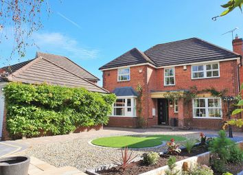 Thumbnail 4 bed detached house for sale in Meadow Close, Penkridge, Stafford