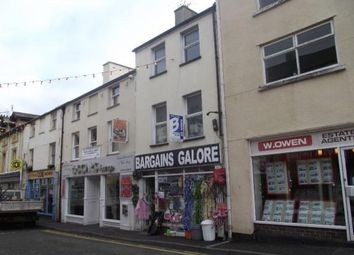 Thumbnail 3 bed maisonette for sale in High Street, Bangor, Gwynedd