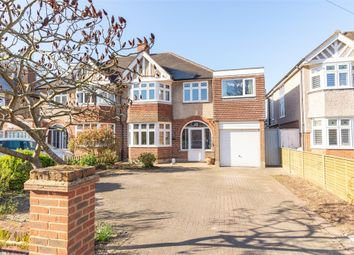Thumbnail 4 bed semi-detached house for sale in Sandy Way, Walton-On-Thames, Surrey