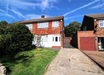 Thumbnail 3 bed semi-detached house for sale in Park Crescent, Lesney Park, Erith, Kent
