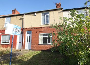 Thumbnail 2 bed terraced house to rent in Manor Road, Askern, Doncaster