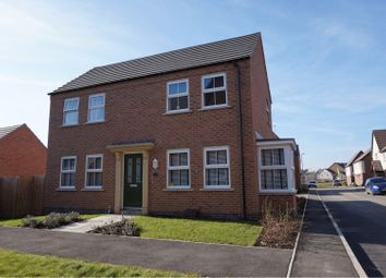 Thumbnail 3 bed detached house for sale in Hazel Road, Nuneaton