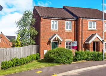 Thumbnail 2 bedroom semi-detached house for sale in Brambling Lane, Cringleford, Norwich