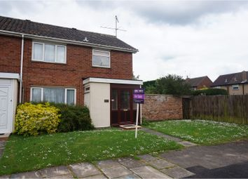 Thumbnail 3 bedroom end terrace house for sale in Grange Road, Northampton