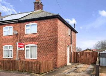 Thumbnail 3 bed end terrace house for sale in Belsize Avenue, Peterborough