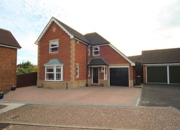 Thumbnail 4 bed detached house for sale in Saxon Close, Kings Hill, West Malling
