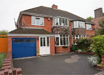 Thumbnail 4 bed semi-detached house for sale in Victoria Avenue, Halesowen