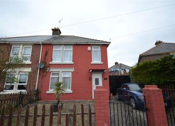 Thumbnail 2 bed semi-detached house for sale in Lloyd Avenue, Barry