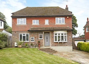 Thumbnail 3 bed detached house for sale in Warren Hill, Epsom, Surrey
