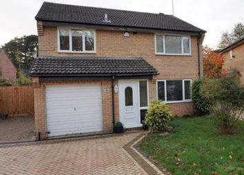 Thumbnail 4 bedroom detached house for sale in Faringdon Court, Southfields, Northampton
