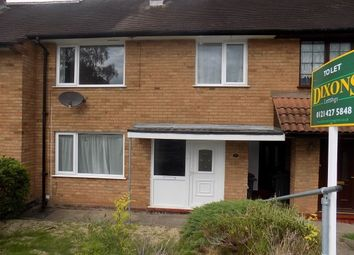 Thumbnail 3 bed terraced house to rent in Bartley Drive, Birmingham