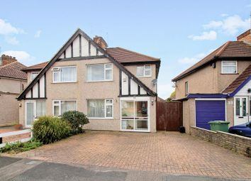 Thumbnail 3 bed semi-detached house for sale in Hitherwell Drive, Harrow